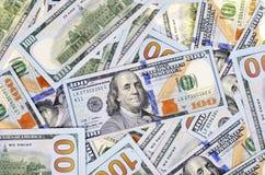 Cento dollari Fotografie Stock