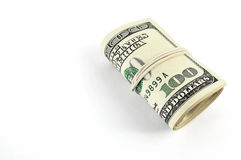 Cento dollari Fotografie Stock Libere da Diritti