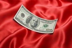 Cento dollari Bill Fotografia Stock Libera da Diritti