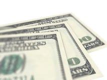 Cento dollari Bill Immagini Stock