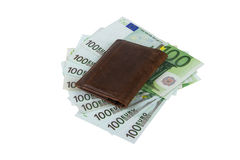 Cento euro Banknots Fotografia Stock Libera da Diritti