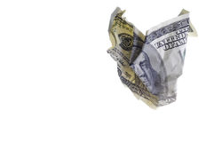 Cento fatture del dollaro Fotografie Stock Libere da Diritti