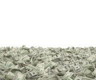 Cento fatture del dollaro Immagine Stock Libera da Diritti