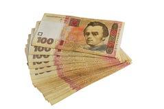Cento hryvnia dell'ucranino Immagine Stock Libera da Diritti