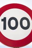 Cento Miles Per Hour Immagini Stock