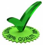 Cento per cento di qualità Immagine Stock Libera da Diritti