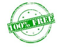 Cento per cento liberano Immagine Stock Libera da Diritti