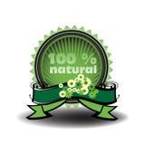 Cento per cento naturali Immagine Stock