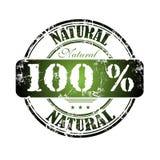 Cento per cento naturali Immagini Stock Libere da Diritti