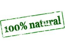 Cento per cento naturali Fotografie Stock Libere da Diritti