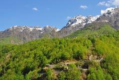 Centovalli, Ticino, lago Maggiore, Suiza Foto de archivo libre de regalías