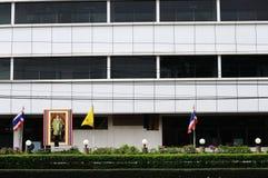 Centra av Bangkok. Arkivfoton