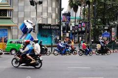 Centra av Bangkok. Royaltyfria Bilder