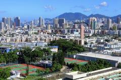 Centra av Hong Kong Royaltyfri Fotografi