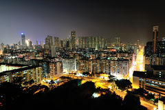 Centra av Hong Kong Royaltyfria Foton
