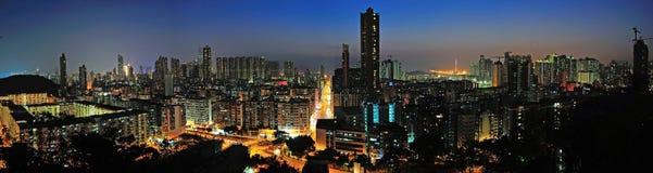 Centra av Hong Kong Arkivbild