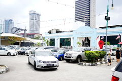 Centra market, Parking & Vechicles. Cars  parking and find the parking lot in front of Central Market Building, Kuala Lumpur, Malaysia Stock Image