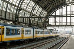 centraal的阿姆斯特丹 免版税库存图片