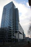 centraal驻地的巴比伦办公室在小室Haag在荷兰 免版税库存照片
