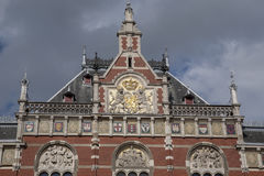 Centraal - Central Railway Station; Amsterdam. Holland; Netherlands Stock Photos