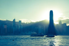 Centraal Hong Kong Stock Fotografie