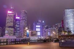Centraal Hongkong stock foto's