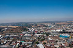 Centraal Johannesburg royalty-vrije stock afbeelding