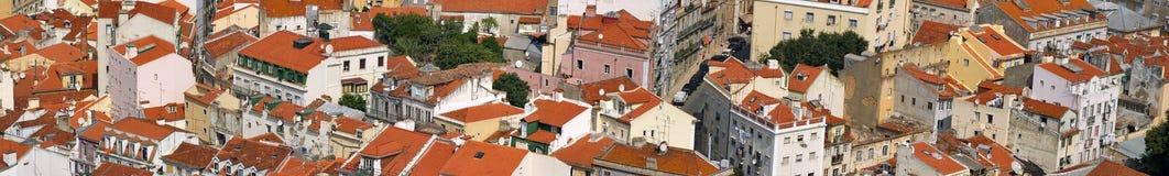 Centraal Lissabon Royalty-vrije Stock Foto's