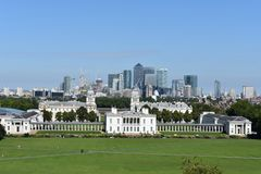Centraal Londen in de zomer Royalty-vrije Stock Foto