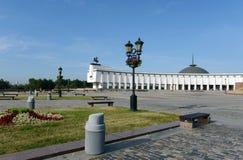 Centraal Museum van de grote Patriottische oorlog van 1941-1945 op Poklonnaya-heuvel Stock Foto's