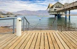 Centraal openbaar strand in Eilat Royalty-vrije Stock Foto