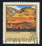 Centraal Otago-Landschap stock afbeelding