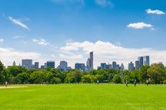 Centraal park stock foto