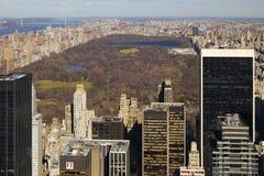 Centraal park, de Stad van New York Stock Foto
