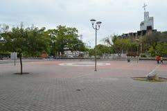 Centraal park van Girardot Royalty-vrije Stock Foto