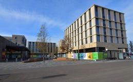 Centraal plein Eddington, het Westenca Stock Fotografie