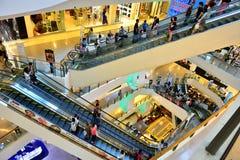 Centraal Plein Grote Rama IX Stock Fotografie