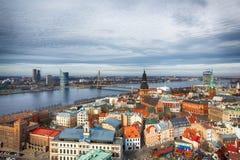 Centraal Riga royalty-vrije stock afbeelding