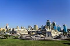 Centraal Sharjah de V.A.E stock afbeelding