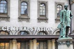 Centraal Station stock fotografie