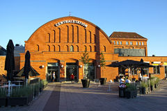 Centraal station in Malmo, Zweden Royalty-vrije Stock Afbeelding
