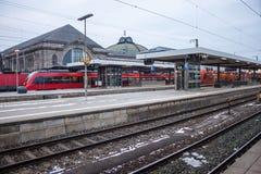 Centraal station in Nuremberg royalty-vrije stock foto's