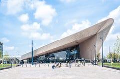 Centraal-Station, Rotterdam, die Niederlande Stockfoto