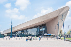 Centraal Station, Rotterdam, The Netherlands Royalty Free Stock Photography