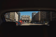 Centraal Station van Milaan Royalty-vrije Stock Afbeelding