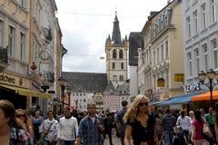 Centraal Trier, Duitsland Royalty-vrije Stock Afbeeldingen