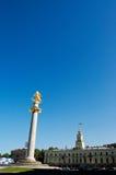 Centraal vierkant in het kapitaal van Tbilisi Georgië Stock Fotografie
