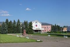 Centraal vierkant van Suzdal, Rusland Stock Foto's
