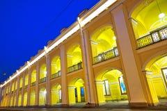 Centraal winkelcomplex in Heilige Petersburg Stock Foto