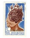 Centraalafrikaanse zegel royalty-vrije stock fotografie